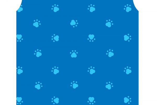 PAW PRINT BLUE PAWS BLUE