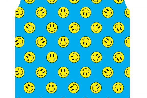 SMILEY FACE BLUE